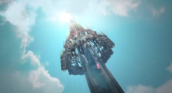 Falcon's Fury coming in 2014 is a 335-foot-tall drop ride.