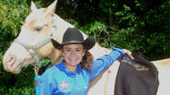 Sarah Duffy's family was never into horses, but in just two weeks, the Danville teen will travel out west with her mother Barbara to Gallup, N.M., where Sarah will compete in the National Junior High Finals Rodeo competition.