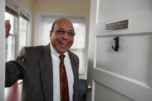 Peter D'Souza is CEO of Hope House, which has taken over the former Reality House on Main Street.