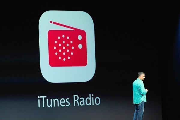 Eddie Cue, senior vice president of Internet software and services at Apple, speaks during the keynote of the Worldwide Developers Conference in San Francisco, where iTunesRadio was officially announced Monday.