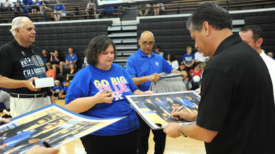 UK Basketball: Fans of all ages enjoy Calipari's camp