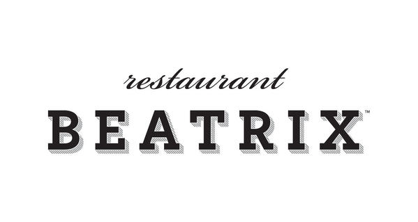 The logo for Restaurant Beatrix