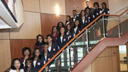 RICHTON PARK, IL—June 10, 2013—Eighteen sophomores and juniors have been inducted into Southland College Prep Charter High School's National Honor Society chapter.