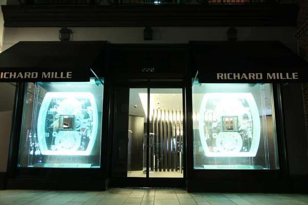 Richard Mille's first U.S. boutique opened on Rodeo Drive in 2010. The luxury watch brand announced Monday that construction on its second U.S store is underway in Las Vegas and set for a September opening.