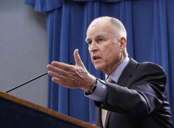 Gov. Jerry Brown will discuss a state budget deal in the Capitol on Tuesday.