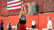 Faith Suggs experienced several things for the first time during last month's USA Basketball U16 National team trials in Colorado Springs.