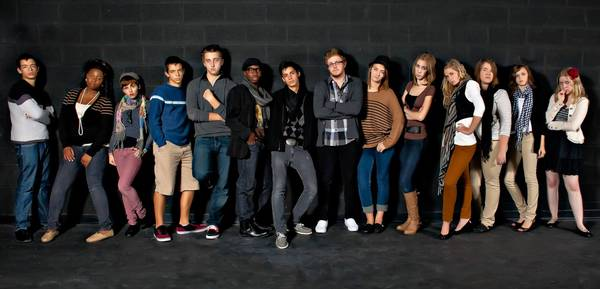 The Northern Voices vocal jazz ensemble's 2011-12 crew recently was named one of the nation's best vocal jazz ensemble by DownBeat magazine. The singers are, from left, Matt Kurecki, Jazmine Hamilton, Jordan Caulk, Jon Kurecki, David Hoff, Chinua Gipson, Niko Burton, Grey Taxon, Kristin Furlow, Veronica Lamlech, Kelly Kratschmer, Taylor Recek, Mackenna Beckman and Karlie Traversa