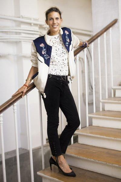 French fashion designer Isabel Marant is teaming up with H&M on a collection hitting stores Nov. 14.