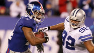 Running back Ahmad Bradshaw joined the Indianapolis Colts on Tuesday with a chance to seize the team's lead-back role from an uncertain group.