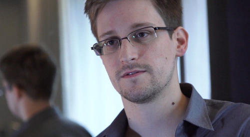 Edward Snowden, a now 30-year-old American intelligence contractor, disclosed the U.S. government's secret phone and Internet surveillance programs.