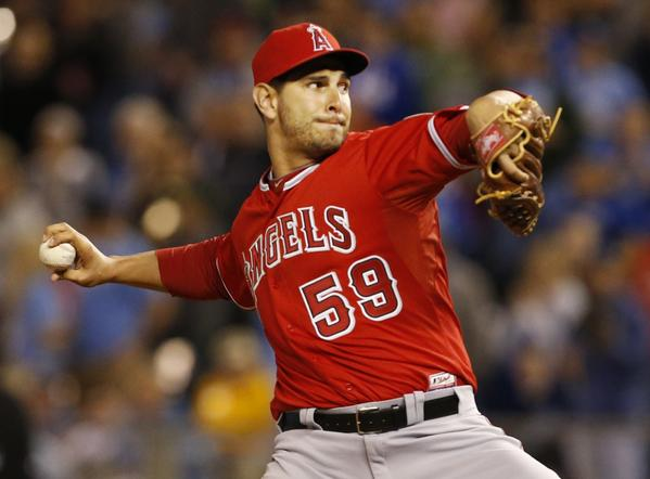 Angels reliever Robert Coello was put on the 15-day disabled list on Tuesday.