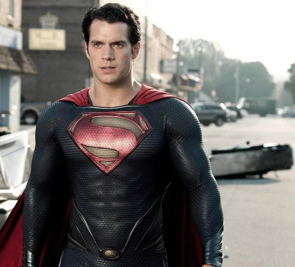 "Henry Cavill plays Superman in ""Man of Steel."""