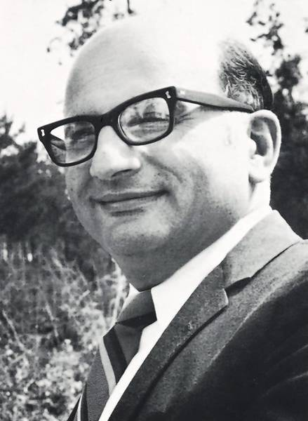 Charles N. Micarelli on the UCF campus in 1970