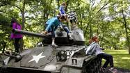 The 69th anniversary of D-Day, Cantigny Park offered activities for children and debuted a 2.5-ton addition to the First Division Museum's historic military fleet.