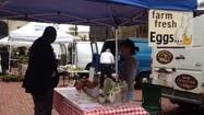 A farmers' market was held at the Old State House in Hartford Tuesday.