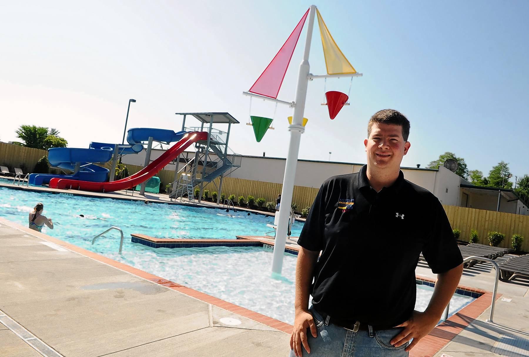 Merritt Athletic Swim Coach Prepares For Official Pool Opening On Saturday Baltimore Sun