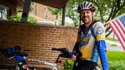 Area dentist on cross-country bike tour