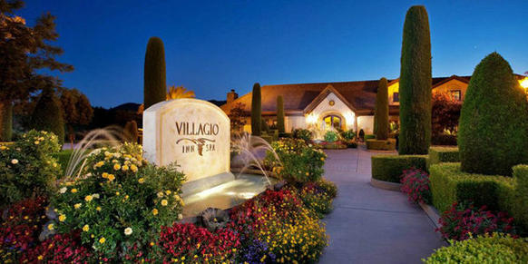 The Tuscan-inspired Villagio Inn & Spa, in the heart of Yountville, Calif., offers a complimentary Champagne breakfast that can fuel the entire family.