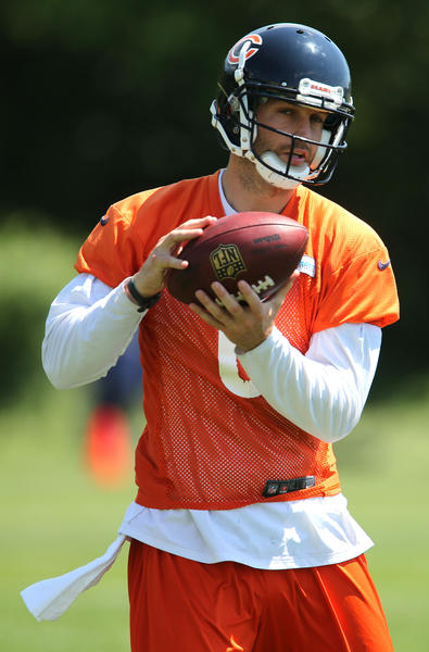 Bears quarterback Jay Cutler.