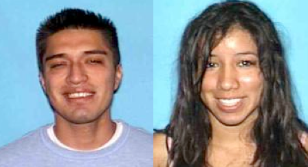 Sergio Raul Gutierrez, 26, and Melissa Lizeth Castillo Gomez, 23, are wanted in connection with a robbery and kidnapping attempt in Santa Monica, police say.
