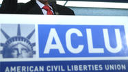 The American Civil Liberties Union announced Tuesday that it has filed a federal lawsuit against key members of President Obama's national security team over the National Security Agency's telephone surveillance, the first legal challenge to the newly disclosed intelligence gathering system.
