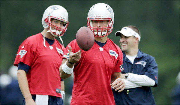 Tim Tebow has joined the New England Patriots where he's been reunited with Josh McDaniels, who drafted him in Denver, and he'll now study under the guidance of Tom Brady and Coach Bill Belichick.