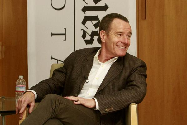 Bryan Cranston talks drama at the Envelope Emmy Round Table.
