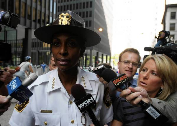 Former Country Club Hills police Chief Regina Evans, shown in 2009, is expected to plead guilty to fraud charges related to misuse of federal grant money.