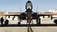 F-35 fighter jet struggles to take off