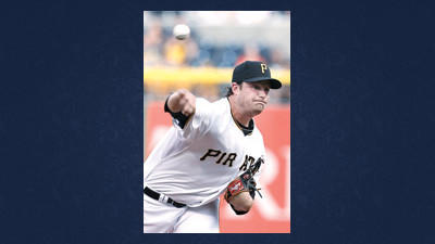 Pittsburgh Pirates' Gerrit Cole throws against the San Francisco Giants in the first inning of the baseball game on Tuesday in Pittsburgh. It was Cole's major league debut.