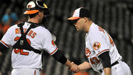 Twice in two nights, Orioles closer Jim Johnson faced off against one of the most intimidating lineups in the major leagues, and twice in two nights, Johnson notched the save.