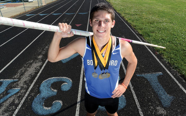 Boonsboro's Nick Seabright is The Herald-Mail's 2013 Washington County Boys Outdoor Track & Field Athlete of the Year.