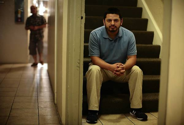 """I am a full-grown man now, but trying to tell this story made it difficult for me to hold myself together,"" said Jeff Castillo, who was interviewed extensively by county officials after his account of severe beatings in Teens Happy Homes foster care appeared in the Los Angeles Times."