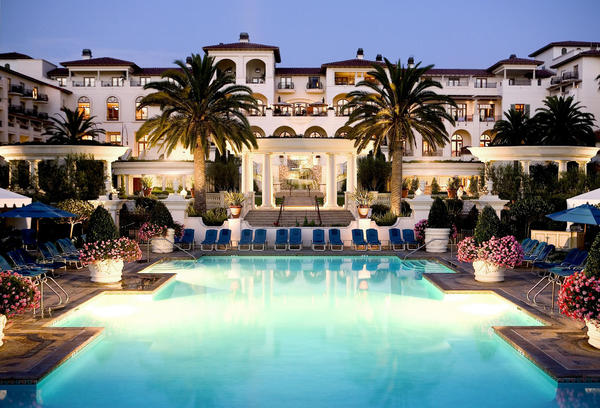 "The St. Regis Monarch Beach Resort, where Sen. Ron Calderon held his ""Endless Summer Birthday Bash,"" a fundraiser for three of his open campaign accounts."