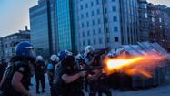 Three killed in protests in Turkey