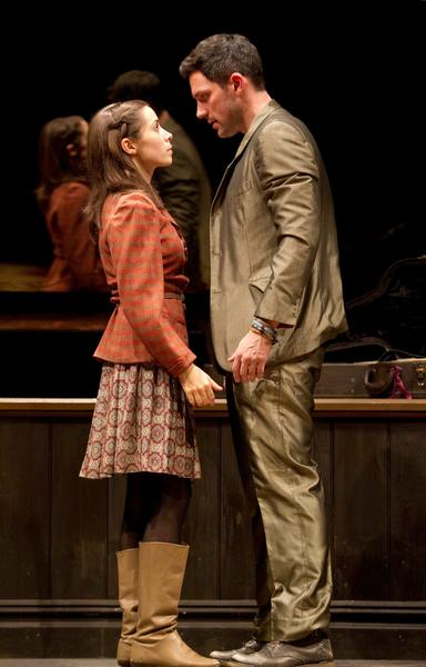 "A scene from the Broadway production of ""Once"""