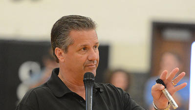 UK Basketball: Calipari tells parents at Boyle camp players' body language speaks volumes