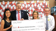 Walmart donates to American Diabetes Association