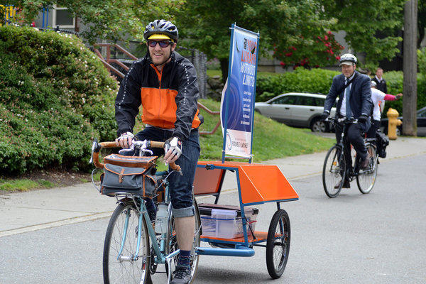 Seattle's biking librarians
