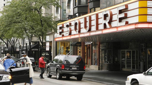 The Esquire in 2006, when it was still a movie house.
