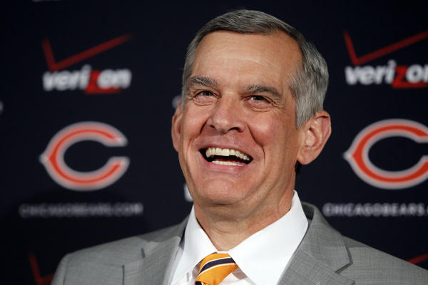 Chicago Bears general manager Phil Emery.