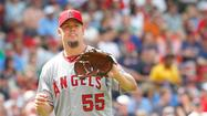 BALTIMORE — The Angels will skip Joe Blanton in the rotation this weekend, and Manager Mike Scioscia did not commit to a specific return date for the struggling right-hander, who is 1-10 with a 5.87 earned-run average, worst among American League starters.