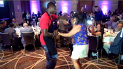 Torrey Smith's Celebrity Waiter Night [Video]