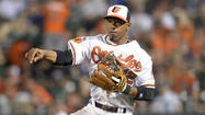 Second baseman Alexi Casilla continues to improve from the finger injury he suffered Sunday at Tampa Bay, but he is once again out of the lineup with Ryan Flaherty earning the start Wednesday against the Los Angeles Angels.
