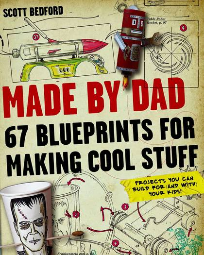 """""""Made By Dad"""" book cover"""