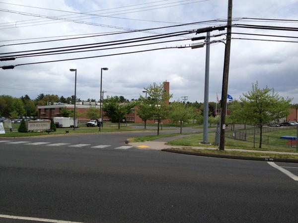 A view of Avon High School. Town police will do an awareness campaign on June 21 that they hope will promote safe driving among students there.