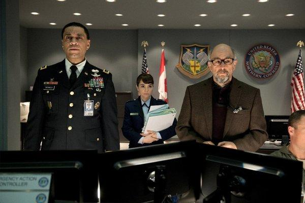 "Actor/producer Henry Lennix, left, seen in ""Man of Steel"" with Christina Wren and Richard Schiff, has been named a juror for the Los Angeles Film Festival narrative competition award."