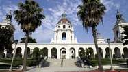 The Pasadena City Council this week adopted a balanced budget that continues a recession-induced trend of lower spending but that will also allow officials to put some money back into reserves.