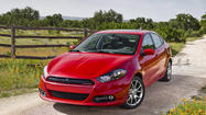 Dodge is recalling nearly 13,000 of its compact Dart sedan to correct a problem with stalling in cold weather.
