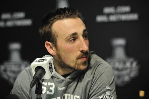 Boston Bruins left wing Brad Marchand.